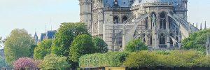Katedra Notre-Dame czyli najczęściej odwiedzany zabytek Paryża.