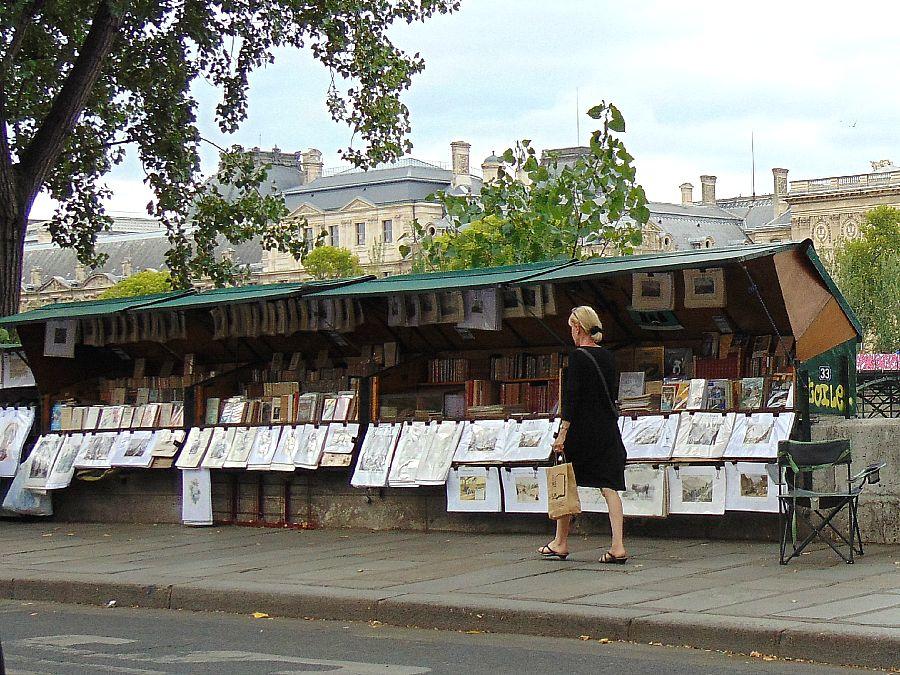 Urokliwe zakątki nad Sekwaną. Paryscy bukiniści