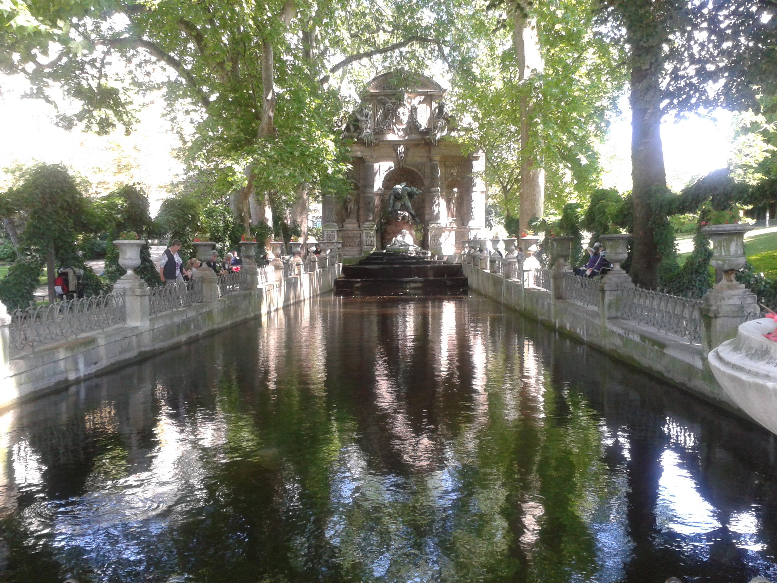 Ogród Luksemburski Paris