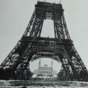 Wycieczka do Paryża: Paryż na starej fotografii.