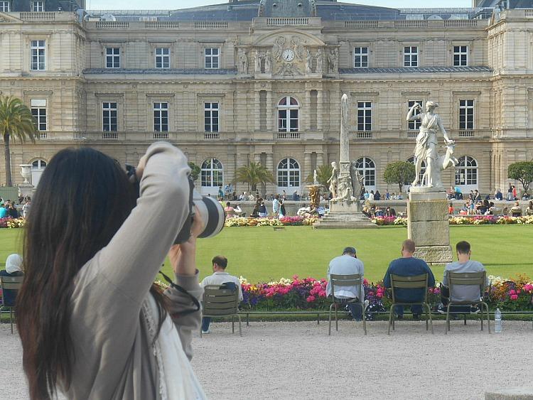 Ogrody Luksemburskie Paryż, czyli gdzie podziali się Paryżanie?