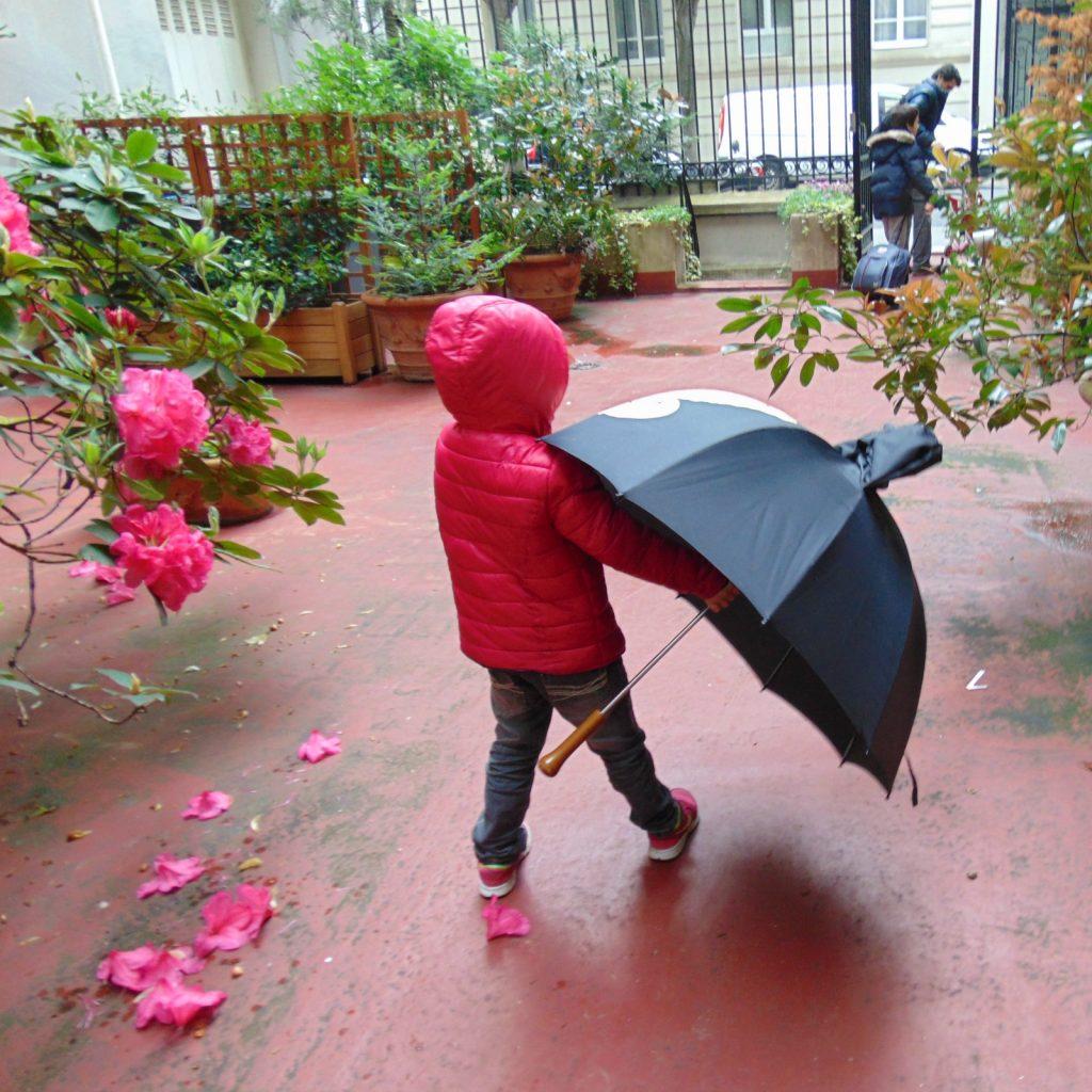 Bo w Paryzu stale pada deszcz