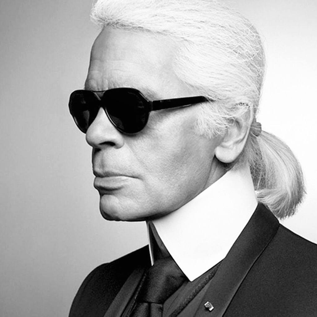 Fryzura à la Karl Lagerfeld, czyli po francusku CATOGAN