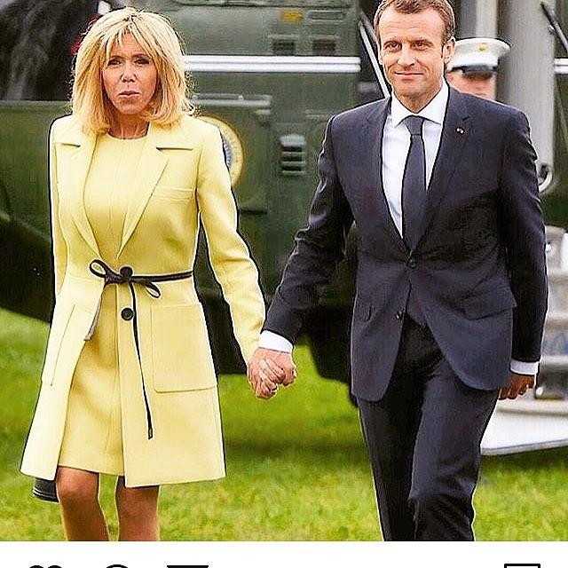 Niewiarygodny sekret szczupłej sylwetki Brigitte Macron.