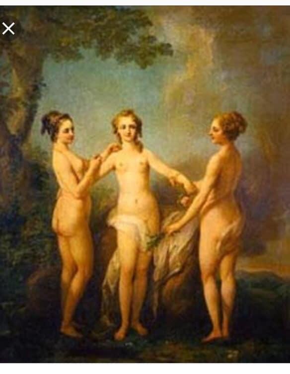 na dworze Ludwika XV