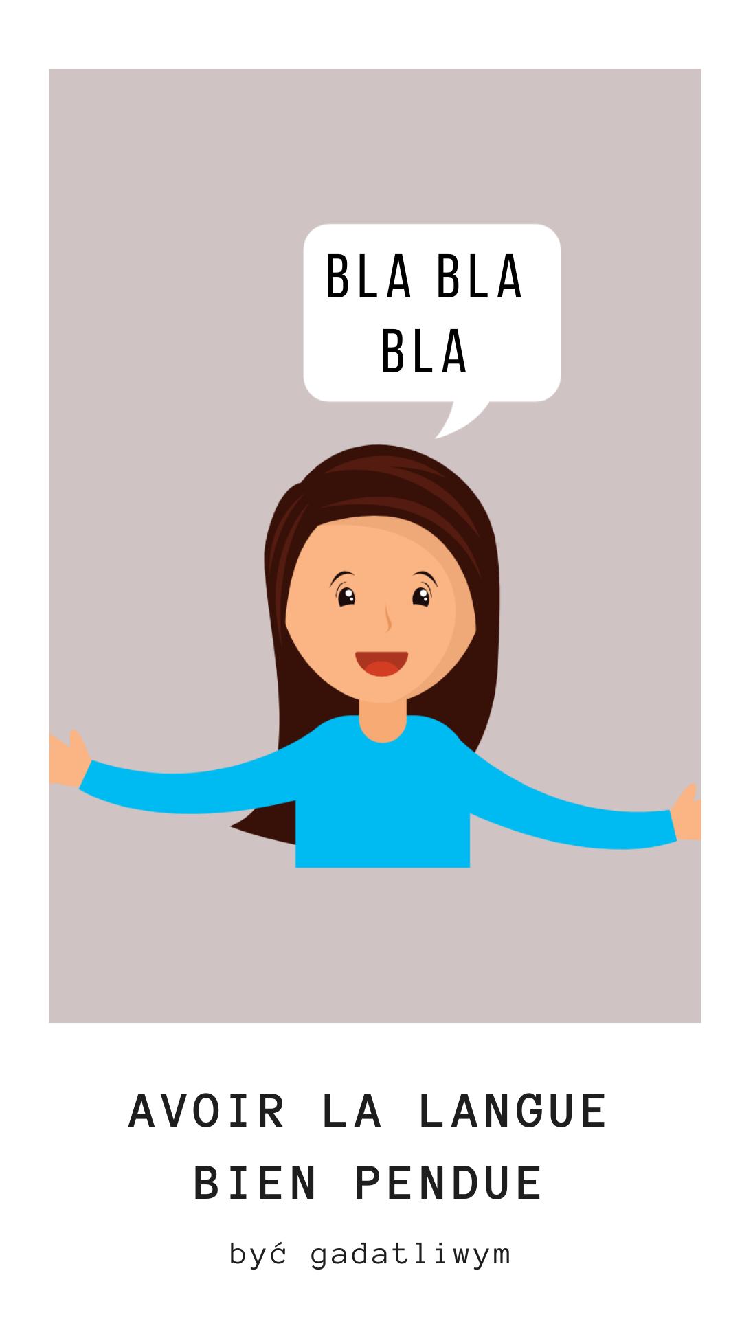 nauka francuskiego, wyrażenia ze słowem język - la langue,