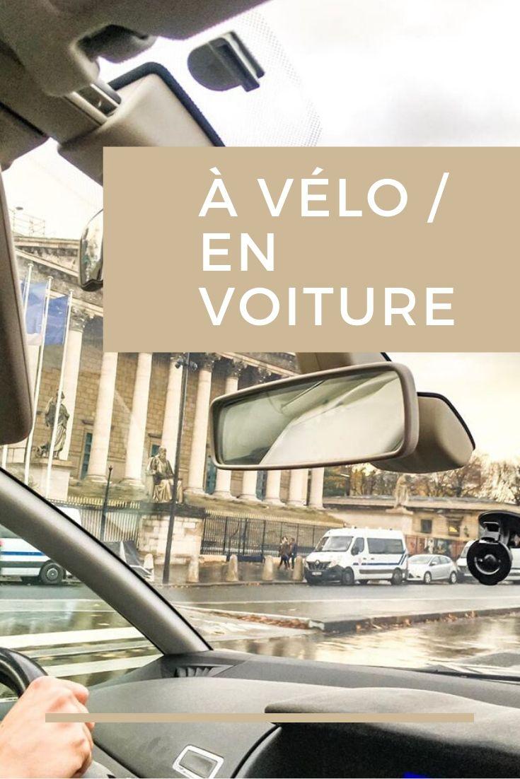 Dlaczego mówimy po francusku: à vélo - en voiture- na rowerze i w samochodzie?
