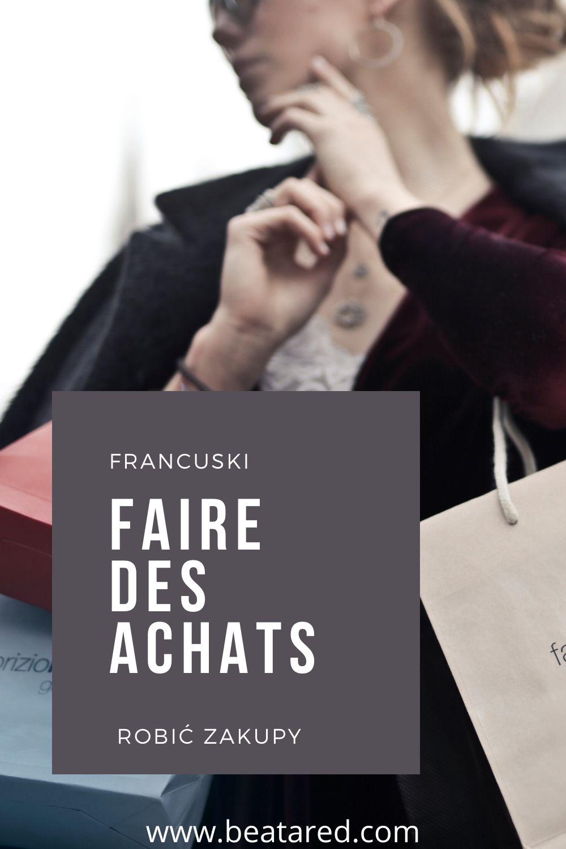 zakupy po francusku