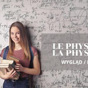 Francuskie rzeczowniki, które zmieniając rodzaj, zmieniają znaczenie, jak le physique  – wygląd vs la physique  – fizyka